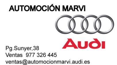 AUTOMOTIVE MARVI - AUDI REUS.